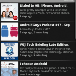 Android Apps for podcasts review